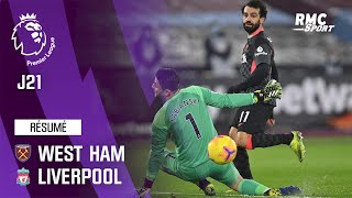 Résumé : West Ham 1-3 Liverpool – Premier League (J21)