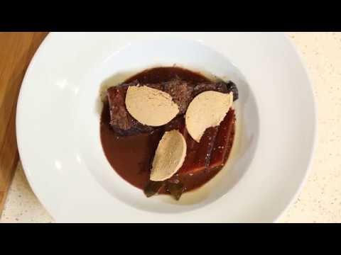 paleron de b uf aux copeaux de foie gras les recettes des supermarch s match youtube. Black Bedroom Furniture Sets. Home Design Ideas