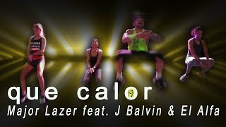 Major Lazer - Que Calor (feat. J Balvin & El Alfa) / Reggaeton Zumba Choreo by Jose Sanchez