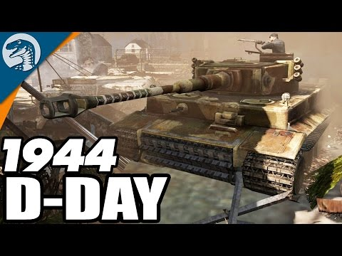 1944 NORMANDY D-DAY INVASION  | Wikinger MOD | Company of Heroes 2 Gameplay
