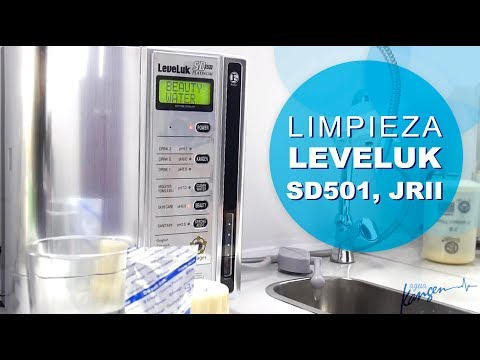 Limpiar el ionizador LEVELUK SD501, PLATINUM, JRII Y R | Agua Kangen Spain