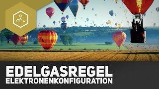Elektronenkonfiguration und Edelgasregel - Was ist das?!