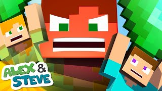 The Minecraft Life of Alex and Steve | Series