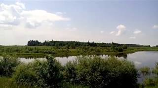 На велосипеді: озеро у д. Пятевщина. Рибалка. By bike: lake at d.Pyatevschina. Fishing.