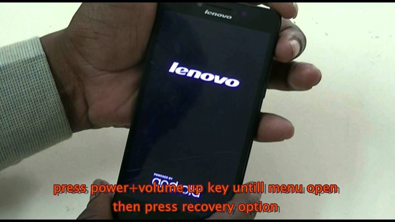 Lenovo A6000 Hang and Display problem solved by Hard Reset