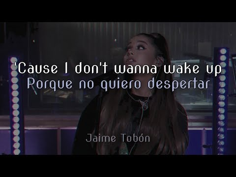 Ariana Grande -  R.E.M (Lyrics & Sub Español) ♡