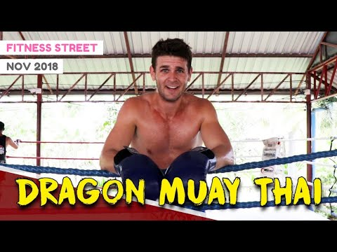 DRAGON MUAY THAI PHUKET (MY PRIVATE SESSION) | FITNESS STREET VLOGS