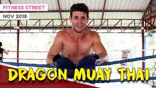 DRAGON MUAY THAI PHUKET (MY PRIVATE SESSION) | FITNESS STREET VLOGS