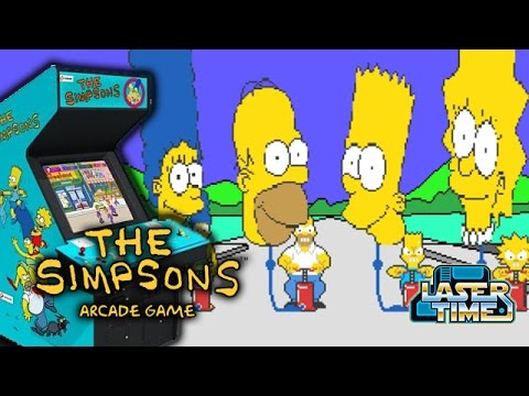 The Simpsons Arcade - Laser Time  says goodbye to Harry Shearer
