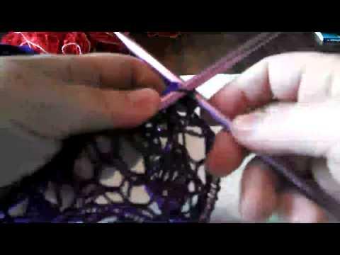 Knitted Sashay Ruffle Scarf Tutorial