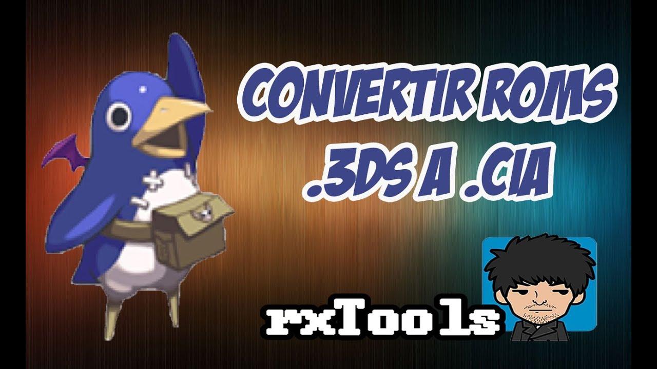[TUTORIAL] 3DS CIA CONVERTER (CONVERTIR ROMS .3DS A .CIA ...