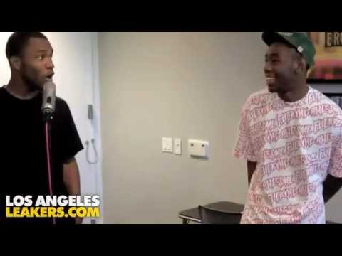 Tyler, the creator and Frank ocean talk shit at each other