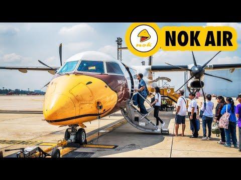 TRIP REPORT | NOK AIR | Bangkok Don Mueang - Lampang | Bombardier Dash 8 Q400 | รีวิวจัดเต็ม  นกแอร์