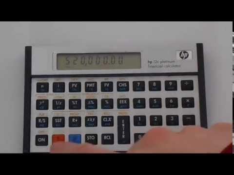 hp 12c how to change change comma to decimal point youtube rh youtube com HP 12C Batteries HP 12C Platinum