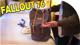 FALLOUT 76 EVENT UNBOXING + GOODIES! (+ Fallout 76 Game Giveaway!)