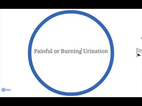 Burning sensation when peeing