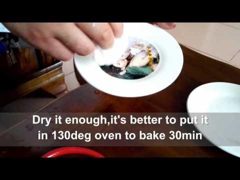 Suntek inkjet water decal paper instruction