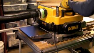 Dewalt 735x Planer With Shelix Head