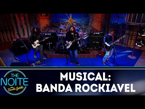 Musical com a banda Rockiavel | The Noite (10/08/18)