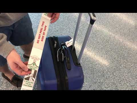 Baggage self tag service