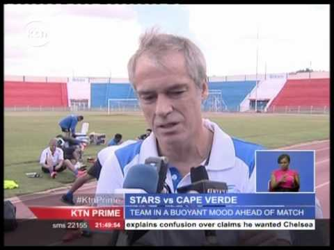Cape Verde ready to take on host Harambee Stars