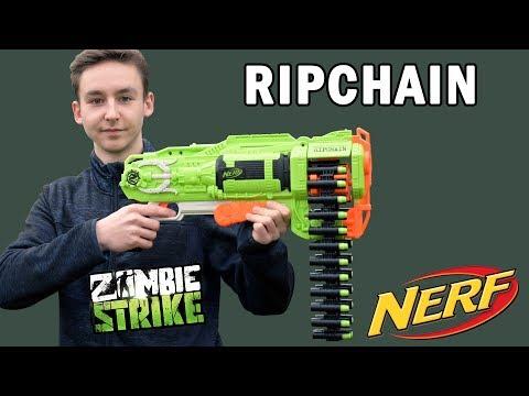 Nerf Ripchain Review & Test | Magicbiber [deutsch]