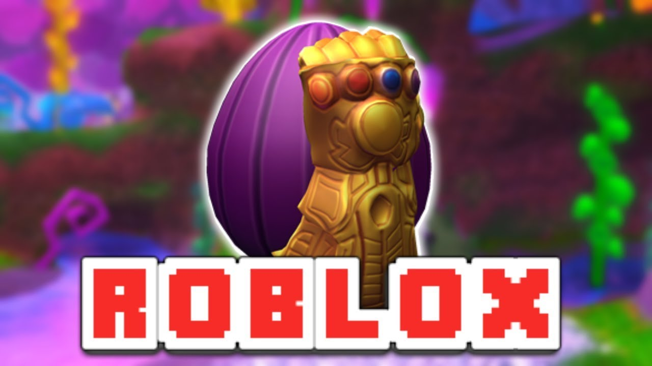 How To Get The Thanos Egg Roblox Egg Hunt 2019 Youtube