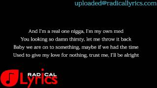 Drake ft Tinashe-On A Wave  LYRICS