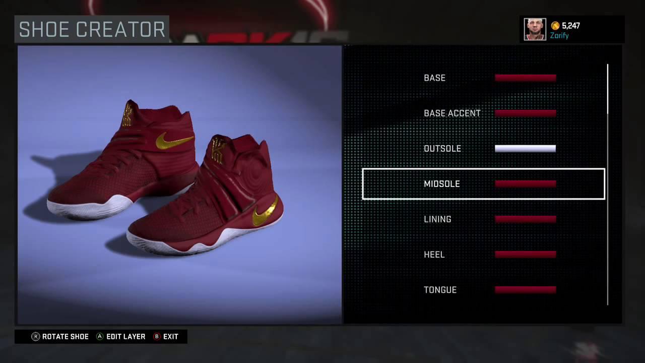 the best attitude 8a01e 47264 NBA 2K16 Shoe Creator - Nike Kyrie 2 PE