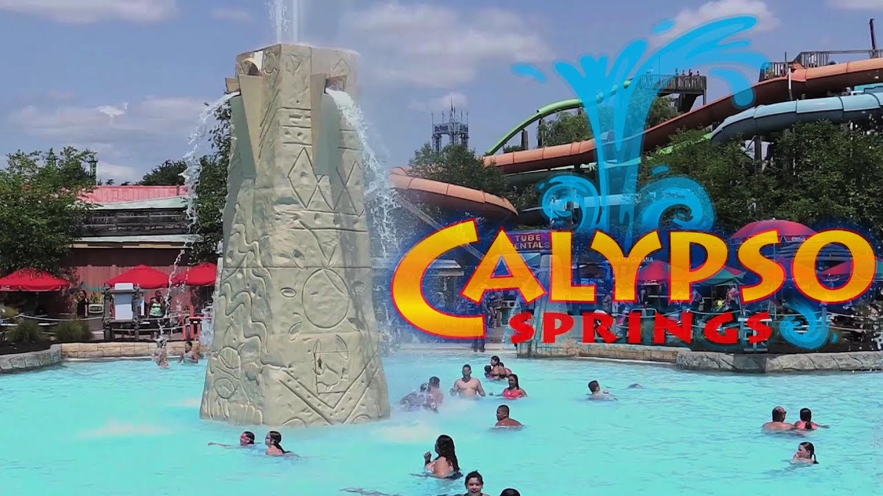 Calypso Springs New for 2019 Six Flags Hurricane Harbor New Jersey
