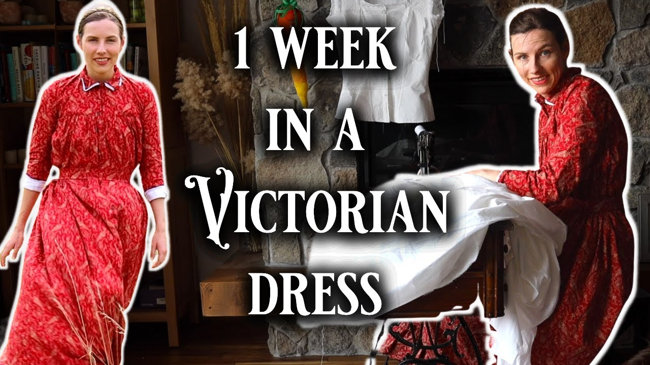 I Wore Victorian Loungewear For A *Week* & This Is How It Went (couch potato corsets are great!)