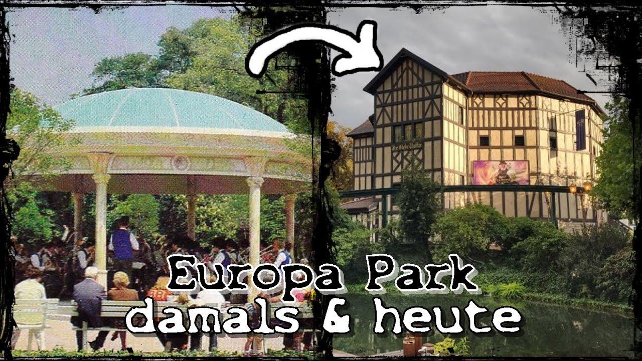 Europa Park damals & heute: Die Transformation bekannter Attraktionen | Europa Park now & then