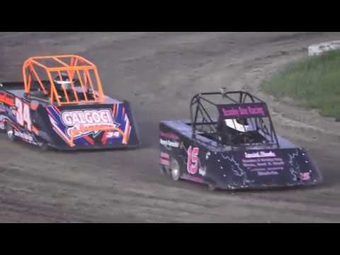 Mini Wedge Feature #2 10-14 year old at Mt. Pleasant Speedway, Michigan on 06-07-2019!