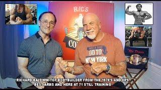 RICHARD BALDWIN 71 Years Old Mr USA Best Arms  Top Bodybuilder