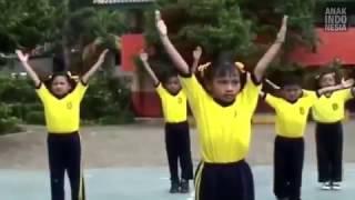 Senam irama ceria anak indonesia