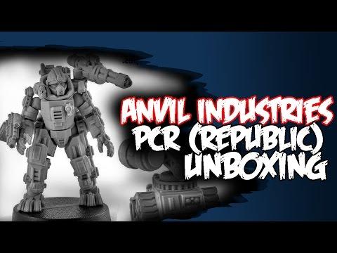 Macleods Mordant Miniatures >> Unboxing Pcr Republic Miniatures Anvil Industries 28mm Heroic