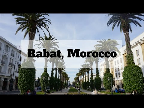 Taking the Train to Rabat, Morocco | Travel Vlog