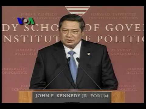 Pidato Lengkap Presiden SBY Di Harvard Bagian 1 - VOA Indonesia
