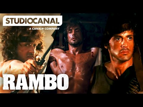 TOP 10 SCENES FROM THE RAMBO TRILOGY - Starring Sylvester Stallone