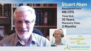 Stuart Aken's ME/CFS ends after 10 years - did pacing work for him?