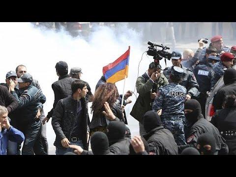 euronews (en français): Crise en Arménie : le leader de l'opposition arrêté