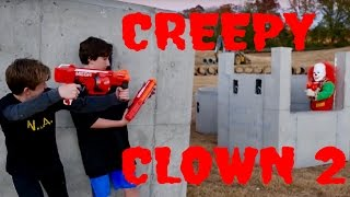 Nerf War: Creepy Clown 2