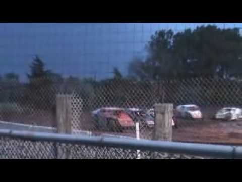 Lincoln County raceway imca A feature 5-29-2010