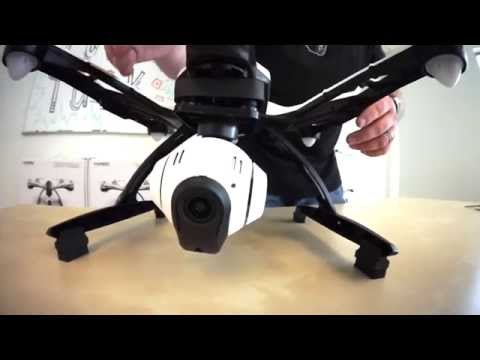 YUNEEC TYPHOON Q-500 HOW TO INSTALL DAMPERS