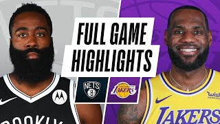NETS at LAKERS | FULL GAME HIGHLIGHTS | February 18, 2021