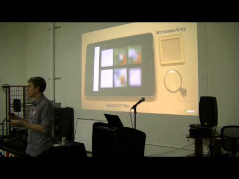 SVVR #5 Presentation: Douglas Lanman from NVIDIA, Near-Eye Light Displays