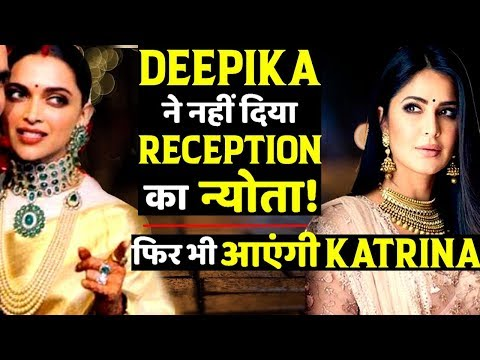 Katrina Kaif Will Be Part Of DeepVeer Reception Despite Not Been Invited By Deepika