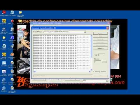 VAG K+CAN Commander odczyt przebiegu i kod PIN z licznika VDO i silnika EDC15x 1.9 TDI - instrukcja