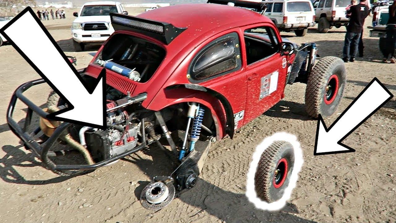 Baja Bugs Wheel Snaps Off X 2017 Jump Champs