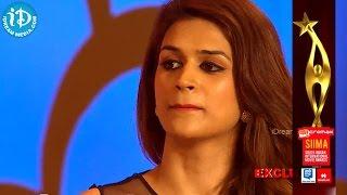 Raj Tarun Proposed to Shraddha Das for KISS @ SIIMA 2014 Awards